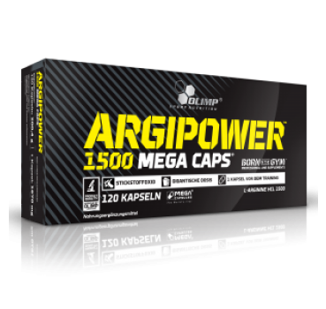 Argi Power 1500 Mega Caps, 120 Caps