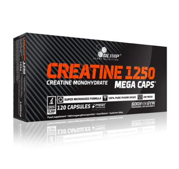 Creatine Mega Caps, 120 Caps